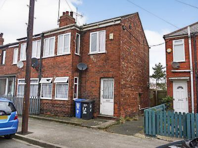 Thumbnail End terrace house to rent in Ceylon Street, Hull