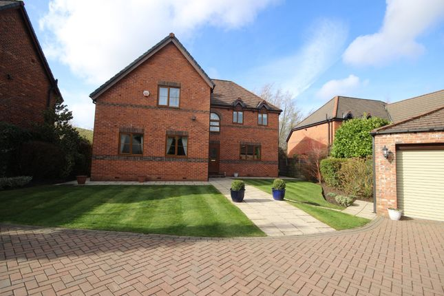 Thumbnail Detached house for sale in Queen Anne Drive, Worsley, Manchester