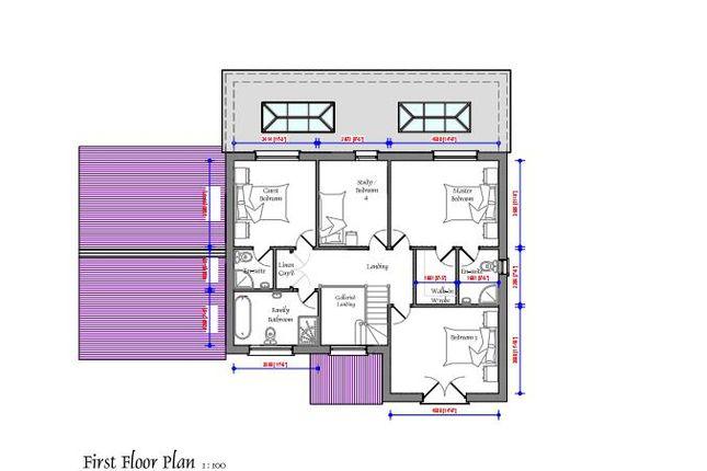 First Floor.Png of Brynhoffnant, Llangrannog, Llandysul SA44