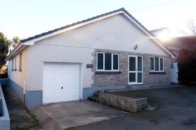 Thumbnail Detached bungalow for sale in Foundry Hill, Hayle