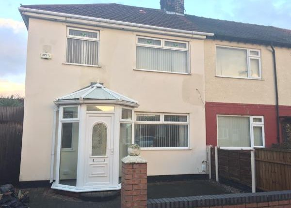 Thumbnail End terrace house for sale in 136 Monfa Road, Bootle, Merseyside