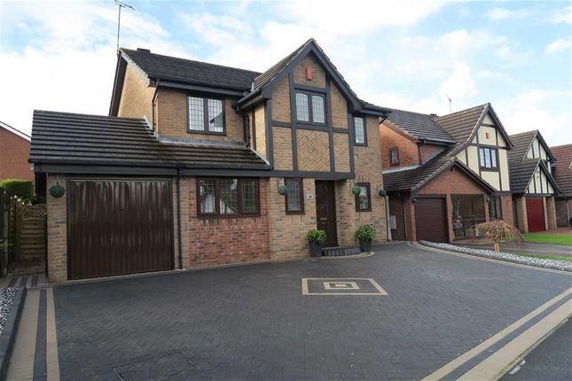 Thumbnail Detached house for sale in Tarragon Drive, Meir Park, Stoke-On-Trent