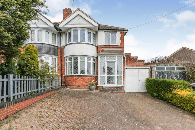 Thumbnail Semi-detached house for sale in Olorenshaw Road, Sheldon, Birmingham