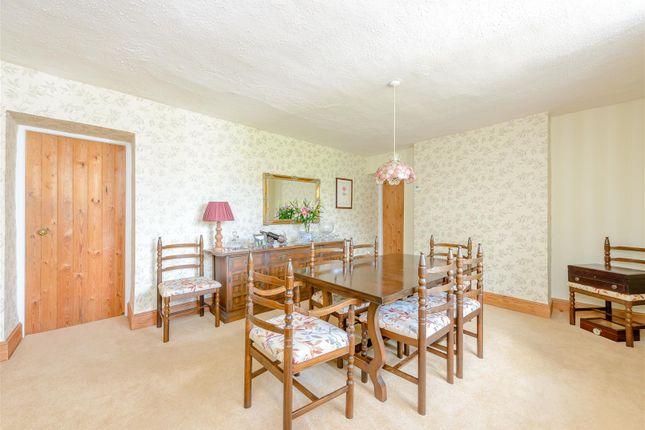 Dining Room of Marston St. Lawrence, Banbury, Northamptonshire OX17