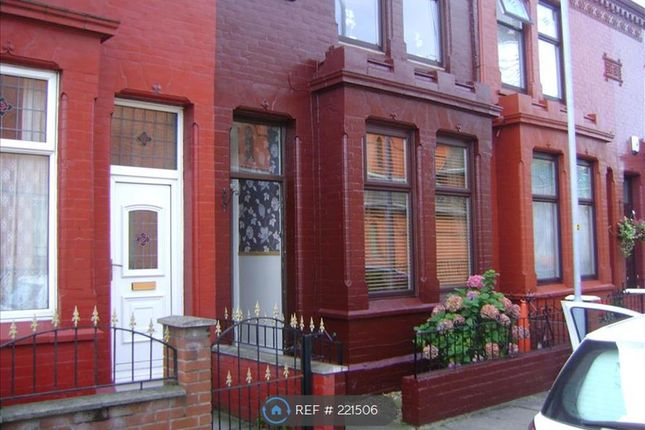 Thumbnail Terraced house to rent in Hornby Roafd, Liverpool