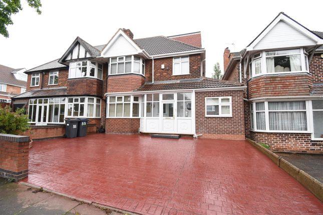 Thumbnail Semi-detached house for sale in Radstock Avenue, Hodge Hill, Birmingham