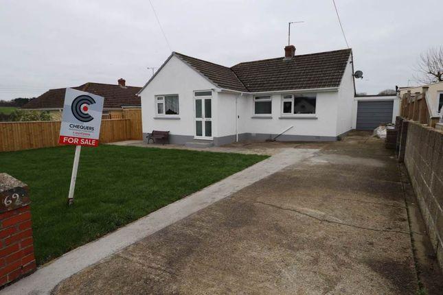 Thumbnail Detached bungalow for sale in Taw View, Fremington, Barnstaple