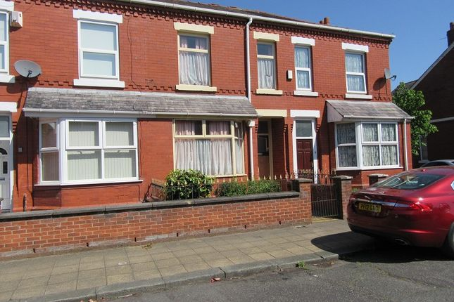 Thumbnail Terraced house for sale in Norton Street, Old Trafford, Manchester.