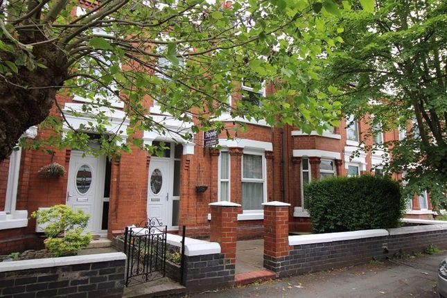 Thumbnail Terraced house to rent in Gainsborough Road, Crewe