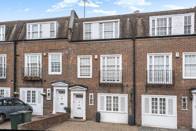 Thumbnail Terraced house to rent in Marston Close, South Hampstead, London