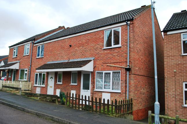 Thumbnail End terrace house to rent in Side Row, Newark