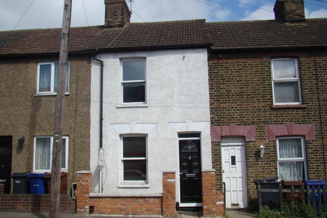 Thumbnail Terraced house to rent in Whitehall Lane, Grays, Essex