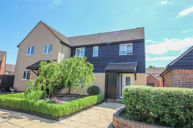 Thumbnail Semi-detached house for sale in Keefield, Harlow, Essex
