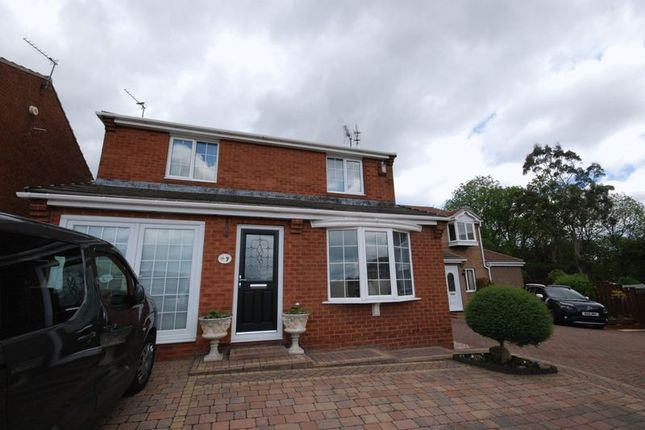 Thumbnail Detached house for sale in Sandmartin Close, Ashington