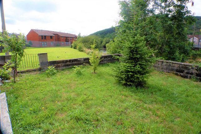 Rear Garden of Ystrad Road, Pentre CF41