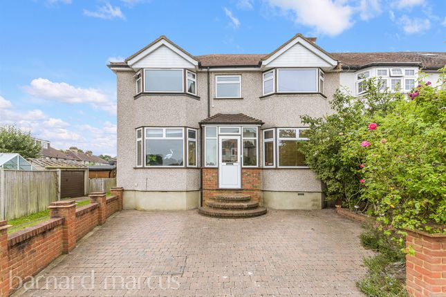 Thumbnail Semi-detached house for sale in Riverholme Drive, West Ewell, Epsom