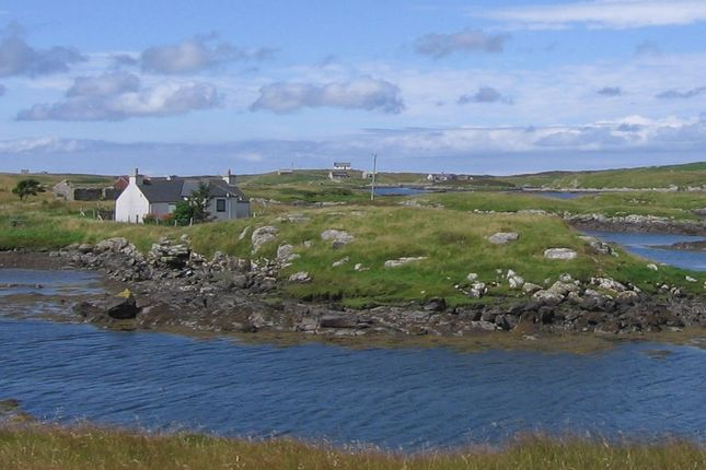 Thumbnail Detached bungalow for sale in Peters Port, Isle Of Benbecula
