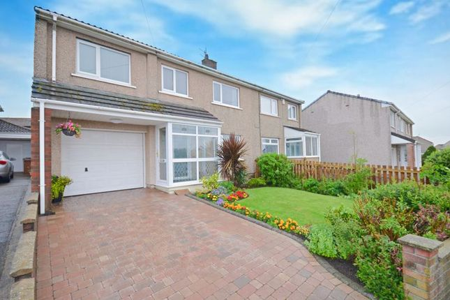 Thumbnail Semi-detached house for sale in Carlton Drive, Whitehaven