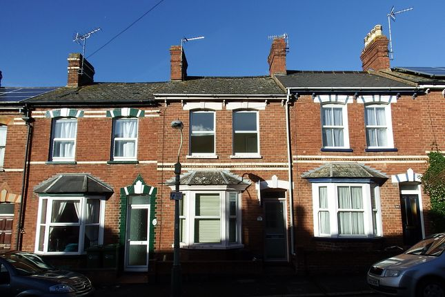 Thumbnail Terraced house to rent in Toronto Road, Exeter