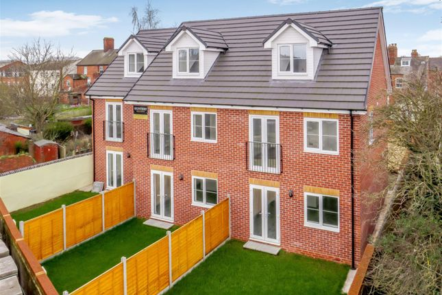 Thumbnail End terrace house for sale in Newstead Court, Newtown Road, Hereford HR49Ln
