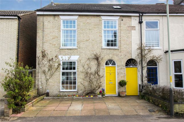 Thumbnail End terrace house for sale in Havelock Road, Norwich