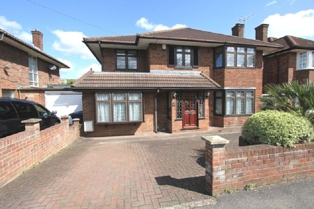 Thumbnail Detached house for sale in Harrowes Meade, Edgware, Greater London.