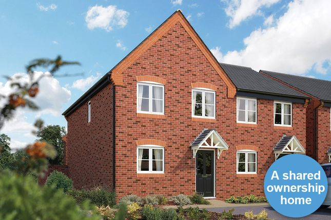 "Thumbnail Semi-detached house for sale in ""The Delamere"" at Golden Nook Road, Cuddington, Northwich"