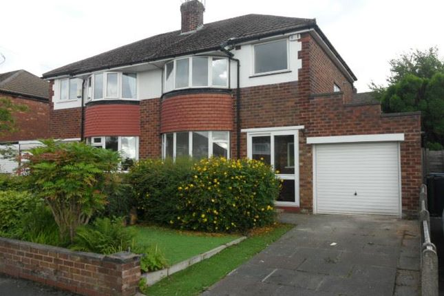 Thumbnail Semi-detached house to rent in Belgrave Avenue, Marple, Stockport, Greater Manchester