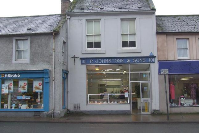 Thumbnail Flat to rent in 101A High Street, Annan