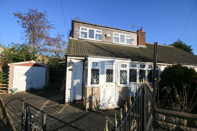Thumbnail Semi-detached bungalow for sale in Stroud Avenue, Eccles, Manchester
