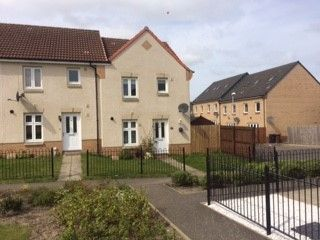 Thumbnail End terrace house to rent in Russell Road, Wester Inch Village, Bathgate