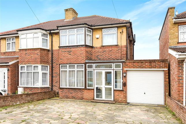 Thumbnail Semi-detached house for sale in Floriston Gardens, Stanmore, Middlesex