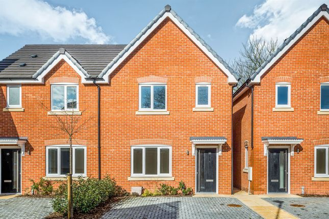 Thumbnail Semi-detached house for sale in Glazebrook Meadows, Glazebrook, Warrington