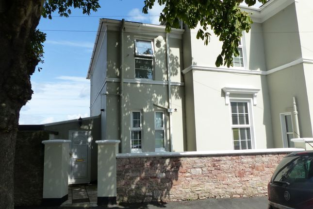 Semi-detached house to rent in St. Lukes Road North, Torquay