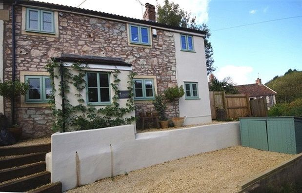 Thumbnail Semi-detached house for sale in Gurney Slade, Somerset