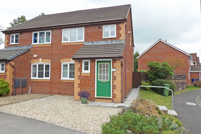 Thumbnail Semi-detached house for sale in Ger Nant, Ystrad Mynach, Hengoed