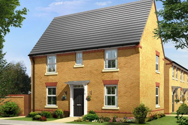 "Thumbnail Detached house for sale in ""Hadley"" at Folly View Close, Penperlleni, Pontypool"
