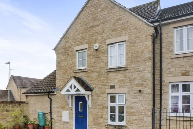Thumbnail End terrace house for sale in Nine Acre Drive, Corsham