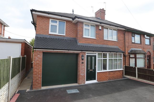 Thumbnail Semi-detached house for sale in Greenway, Blurton