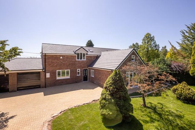 Thumbnail Detached house for sale in The Bannut, Bromyard Road, Bringsty, Herefordshire