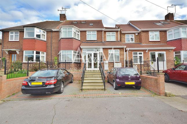 Thumbnail Semi-detached house for sale in Dovedale Avenue, Clayhall, Ilford