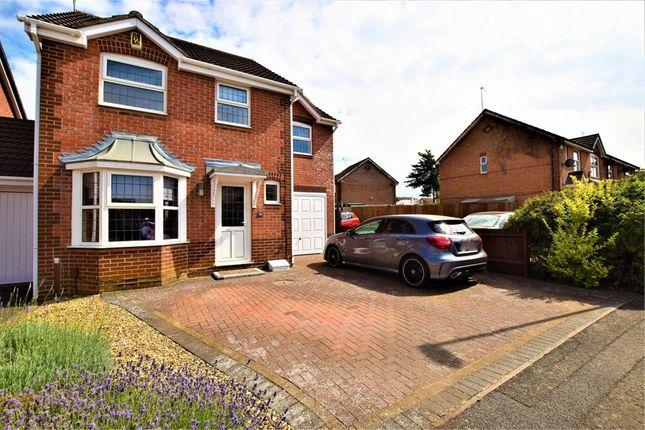 Thumbnail Detached house for sale in Lambrook Drive, East Hunsbury, Northampton