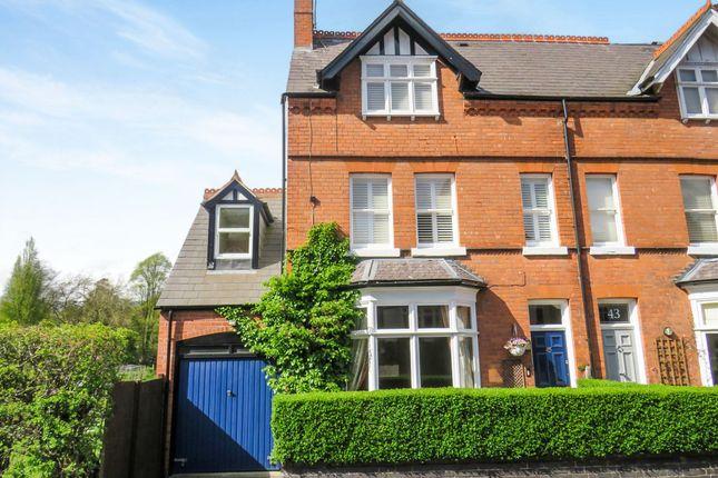 Thumbnail Semi-detached house for sale in Kingscote Road, Edgbaston, Birmingham