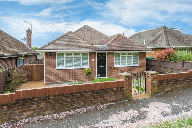 Thumbnail Detached bungalow for sale in James Close, Hazlemere, High Wycombe