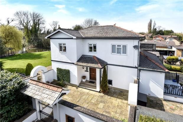 Thumbnail Detached house for sale in Colne Way, Staines-Upon-Thames, Surrey