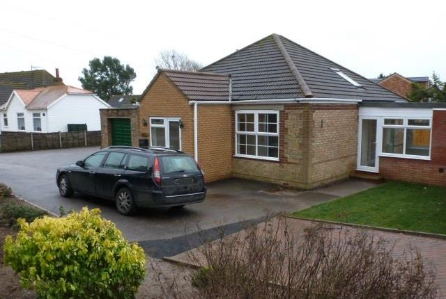 Thumbnail Detached bungalow to rent in Bexwell Road, Downham Market