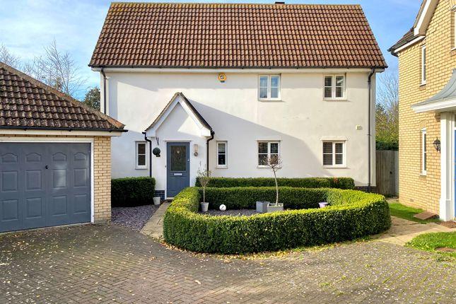Thumbnail Detached house for sale in Clare Drive, Highfields Caldecote, Cambridge