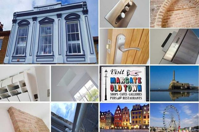 Thumbnail Flat to rent in Trinity Lodge, Masonic Hall, High Street, Margate