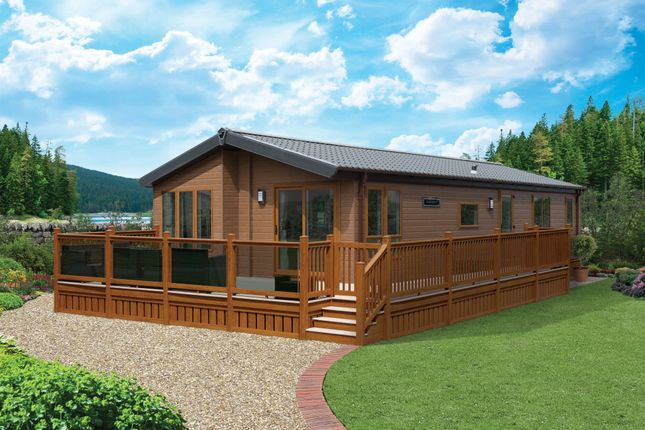 Thumbnail Lodge for sale in Roebeck Country Park, Carters Road, Upton; Ryde
