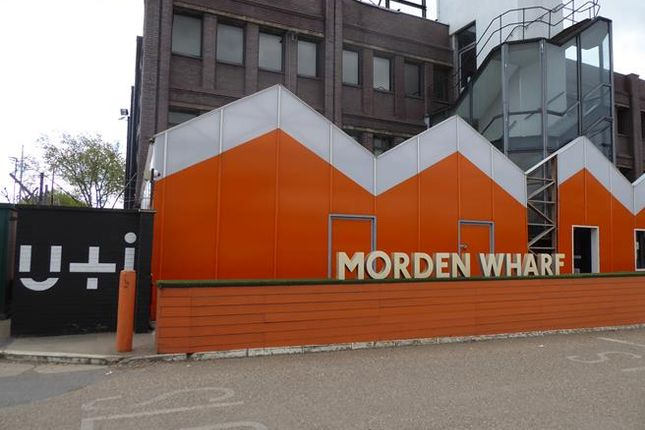 Thumbnail Retail premises to let in Morden Wharf Cafe, Morden Wharf, Greenwich